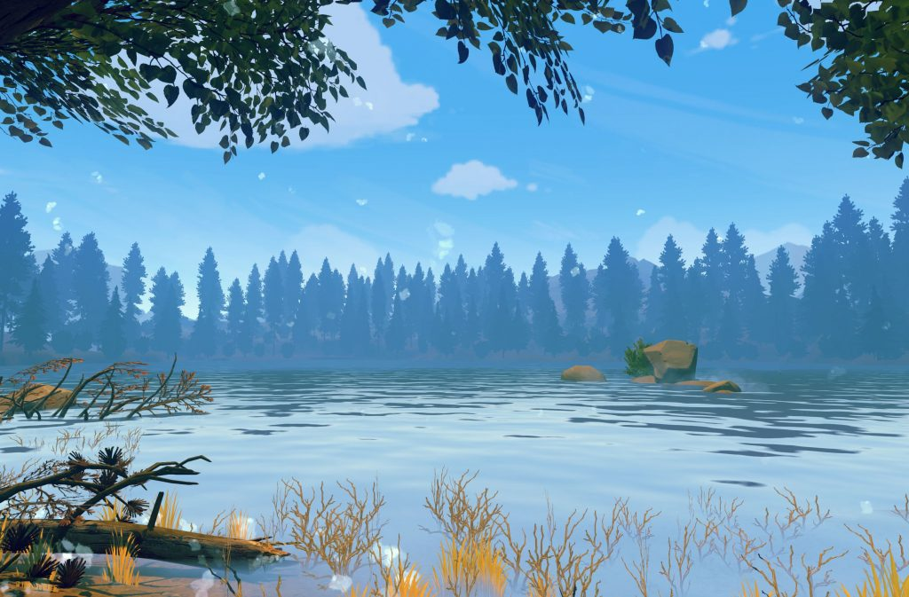 firewatch lake wallpapers