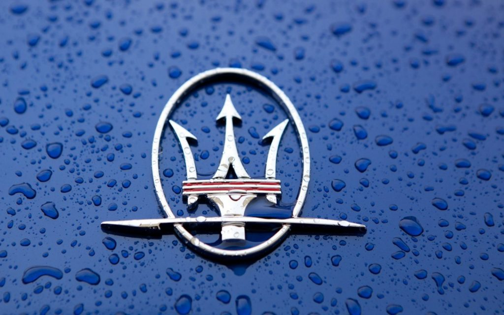 maserati car logo photos wallpapers
