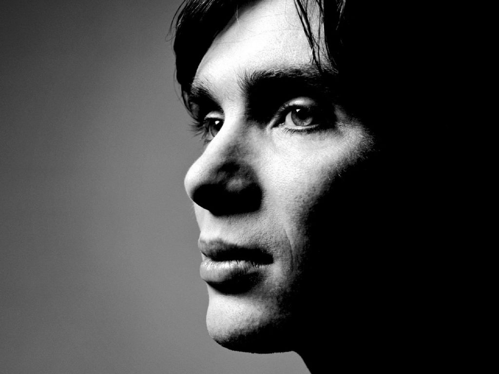 monochrome cillian murphy face wallpapers