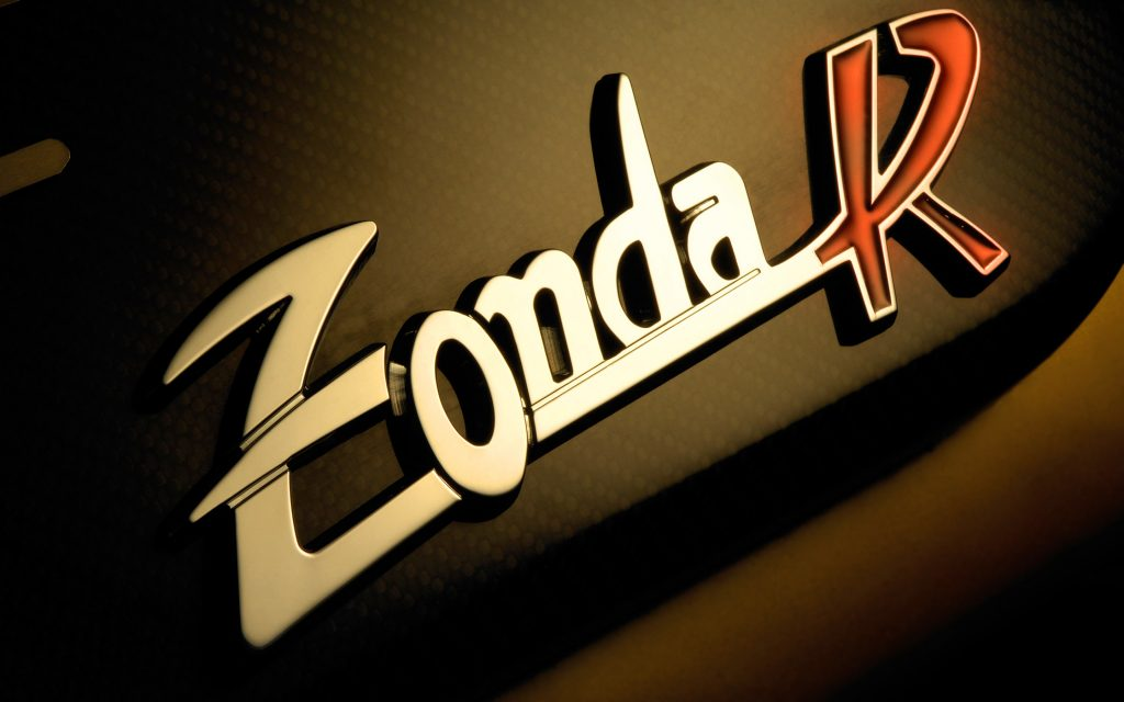 pagani zonda logo widescreen wallpapers