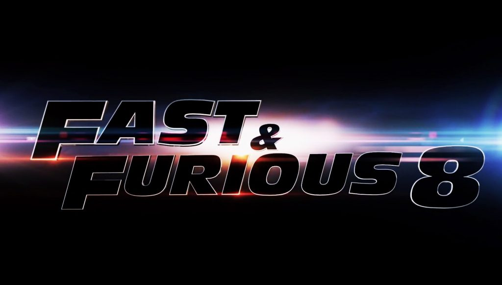 Fast and Furious 8 Movie Logo