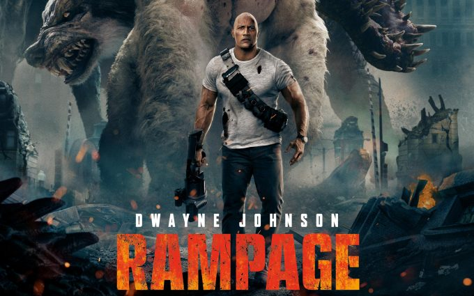 7 HD Rampage Movie Wallpapers