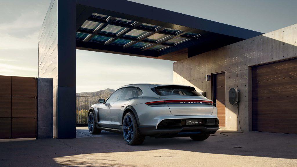 Porsche Mission E Car Wallpapers