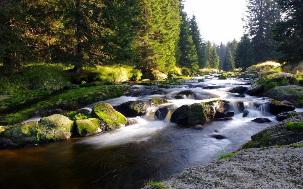 amazing mountain stream wallpapers