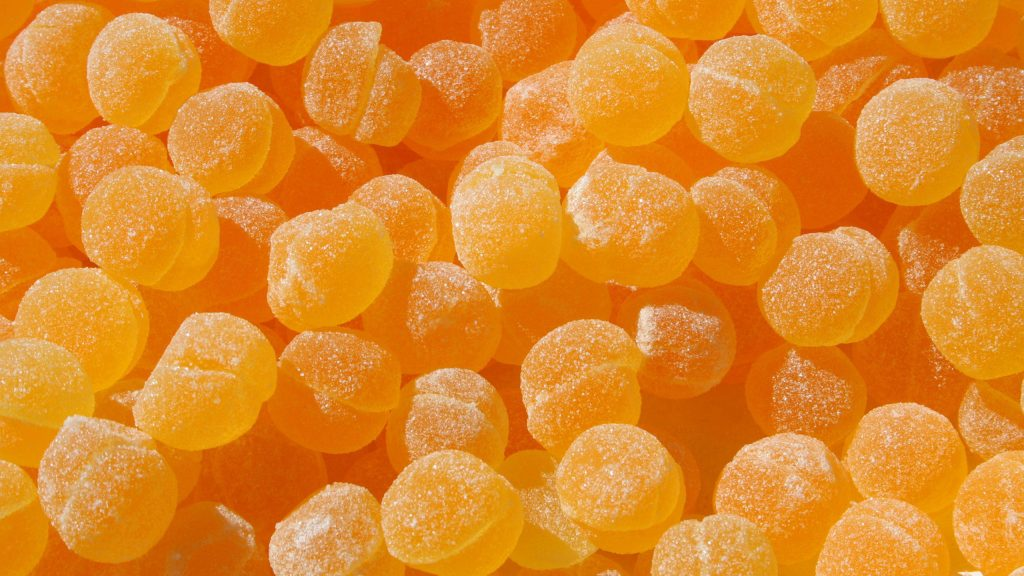 orange candy background wallpapers