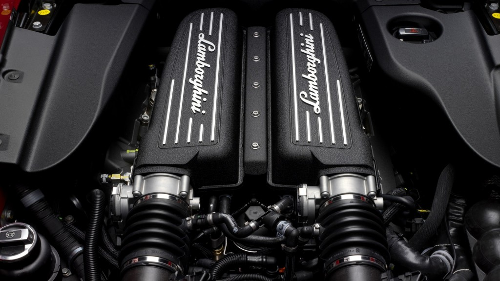 lamborghini car engine wallpapers