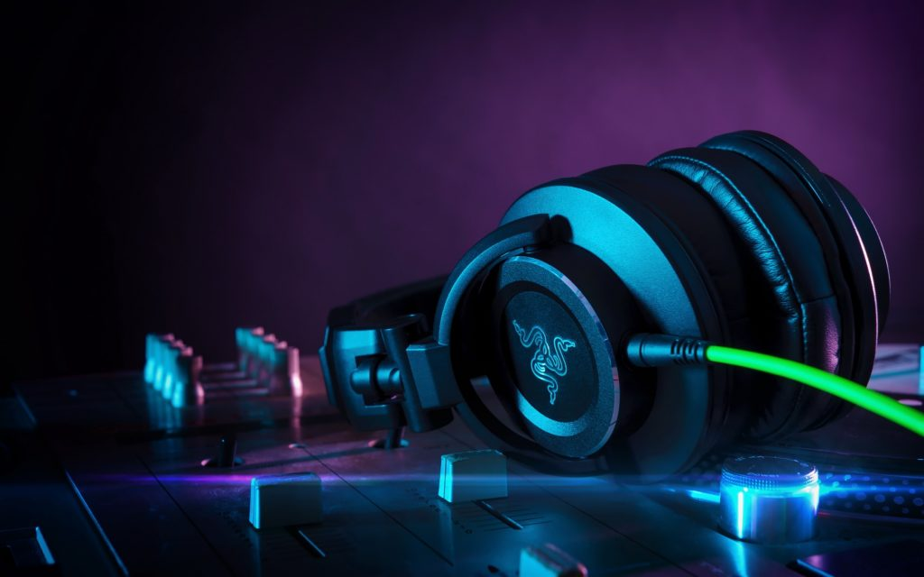 razer headphones background wallpapers