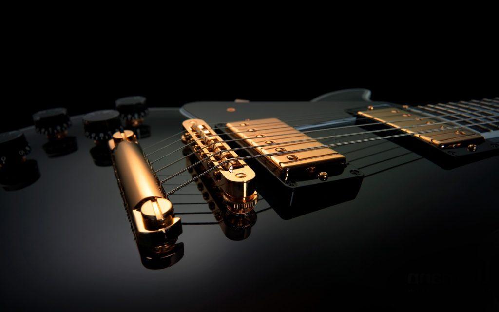 3d guitar wallpapers