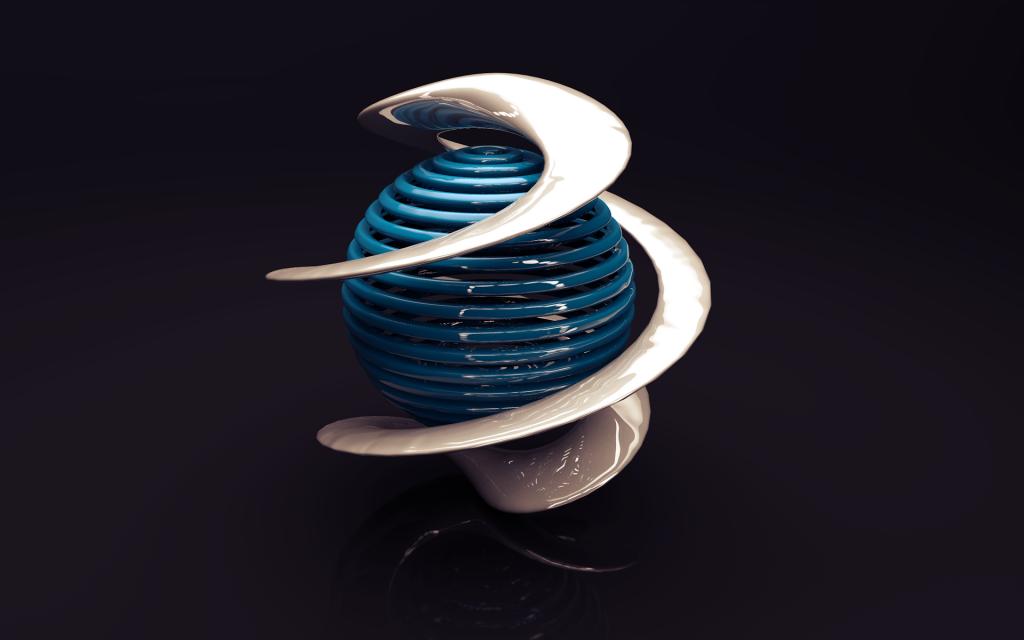 3d sphere wallpapers