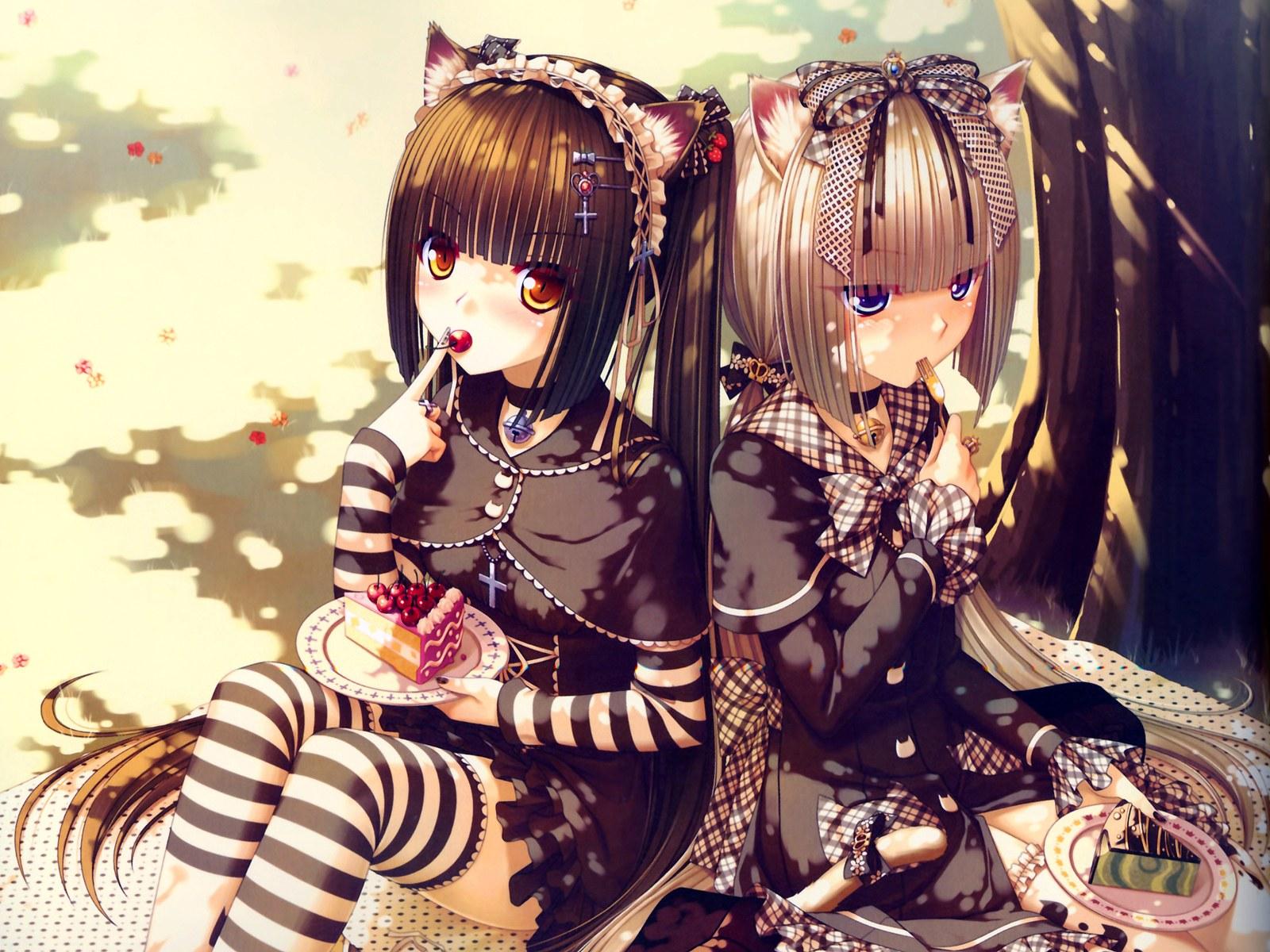 18 Wonderful HD Anime Girls Wallpapers