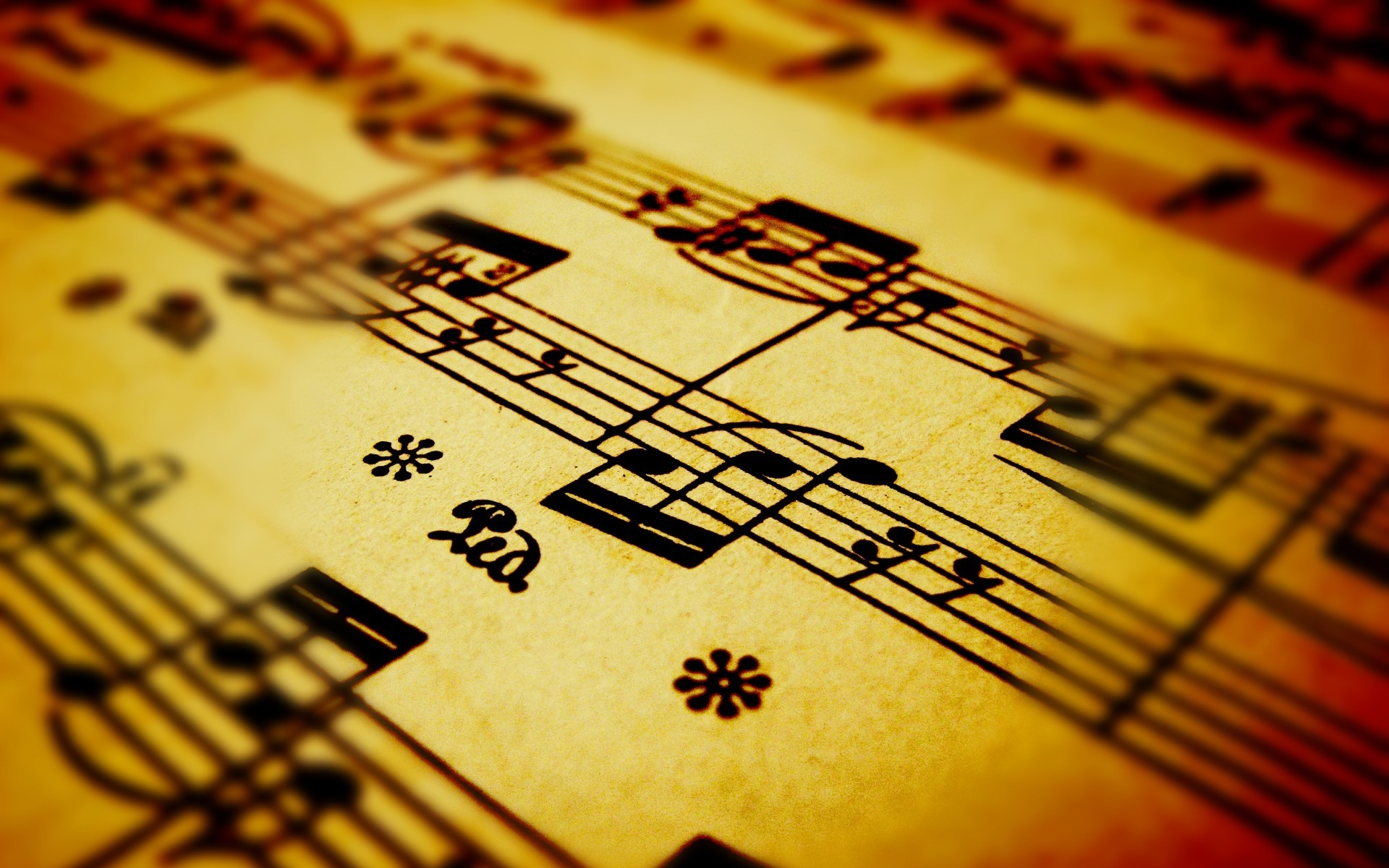 8 Hd Music Notes Wallpapers