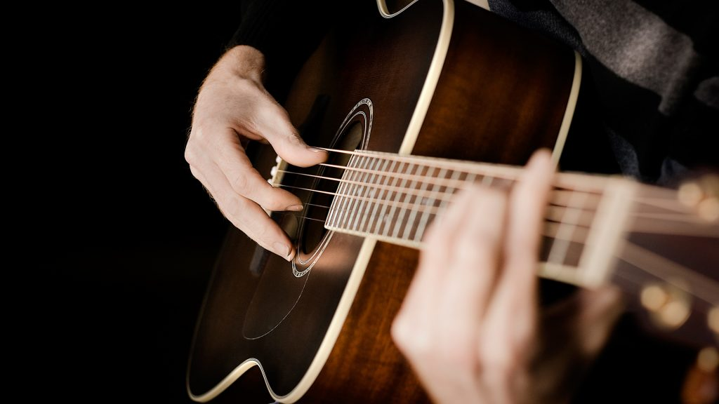 playing guitar desktop wallpapers