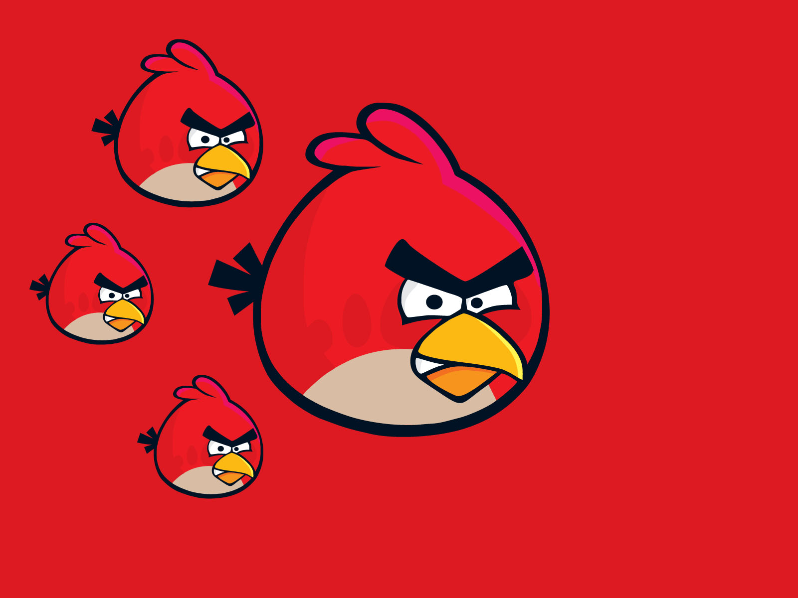 23 HD Angry Birds Wallpapers