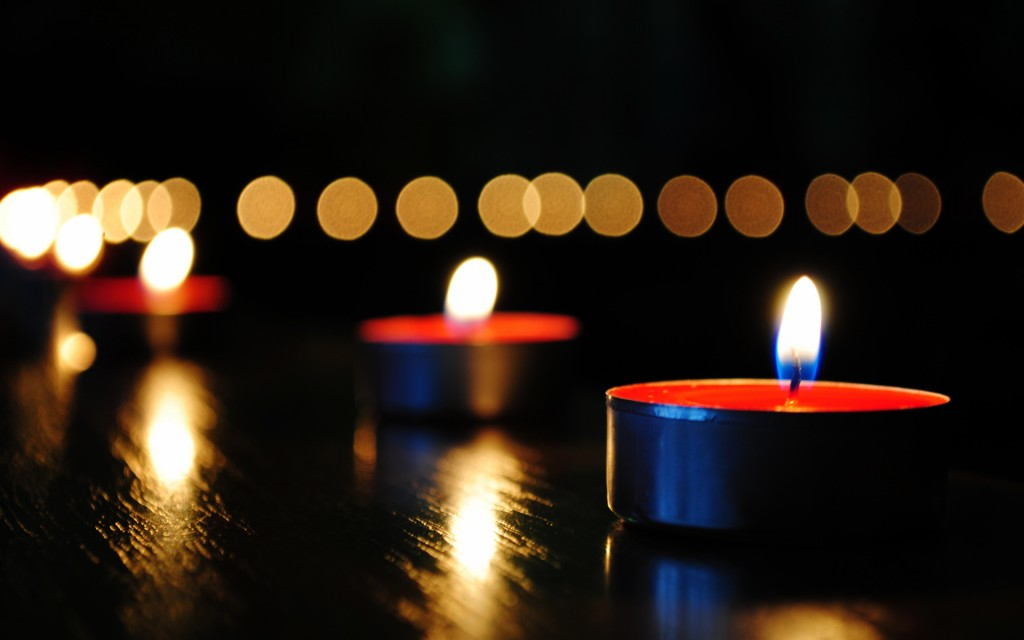 candles desktop wallpapers