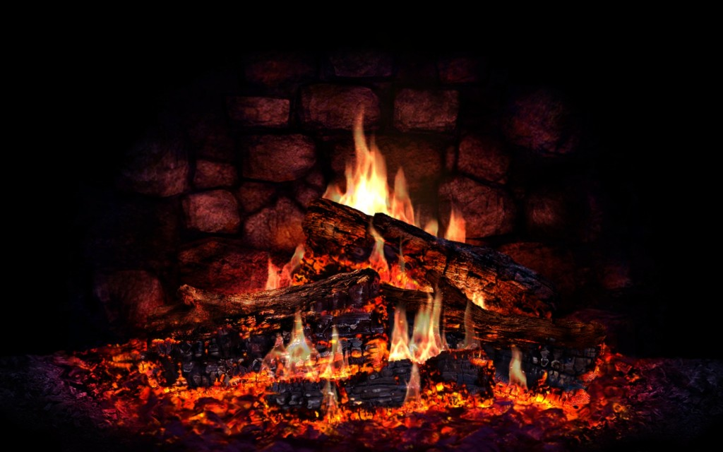 9 Lovely Hd Fireplace Wallpapers