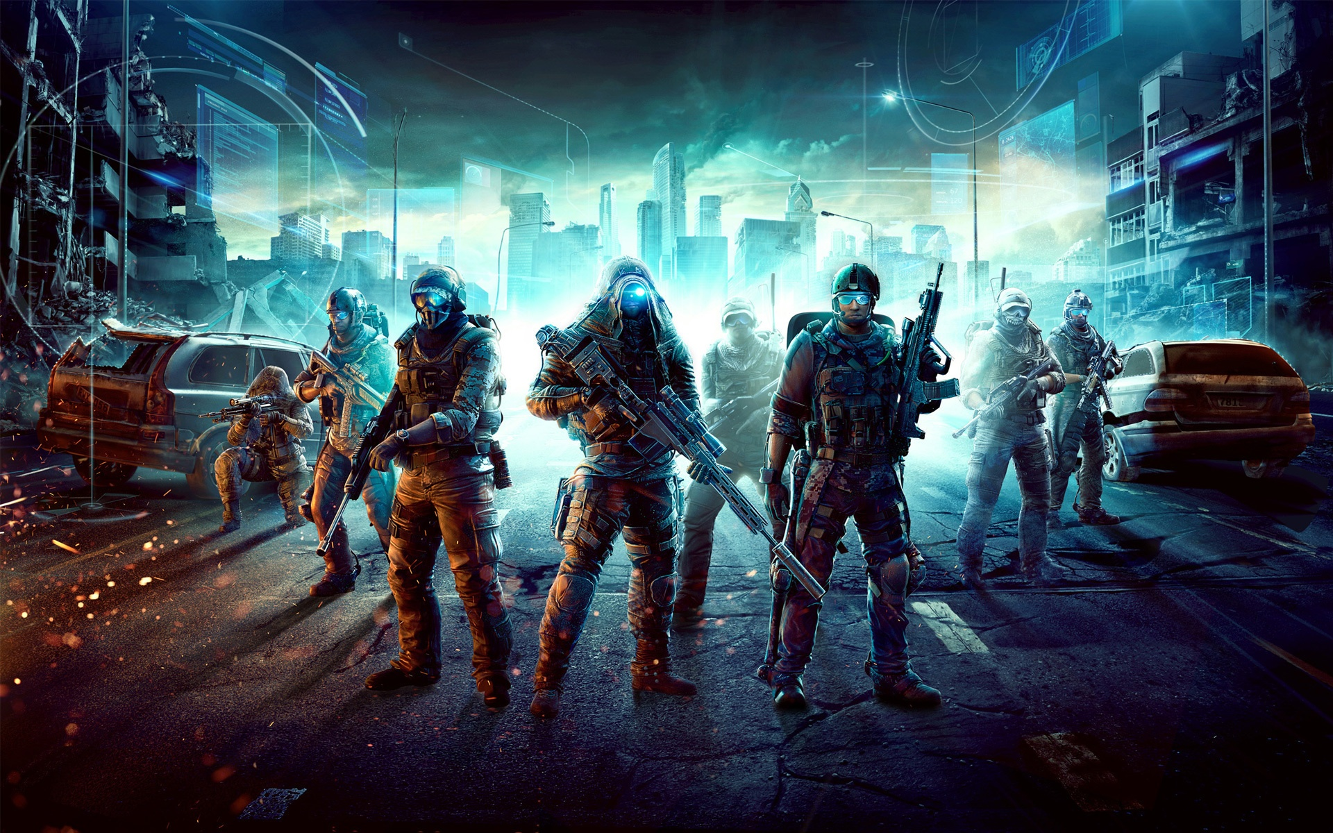 12 hd ghost recon future soldier wallpapers