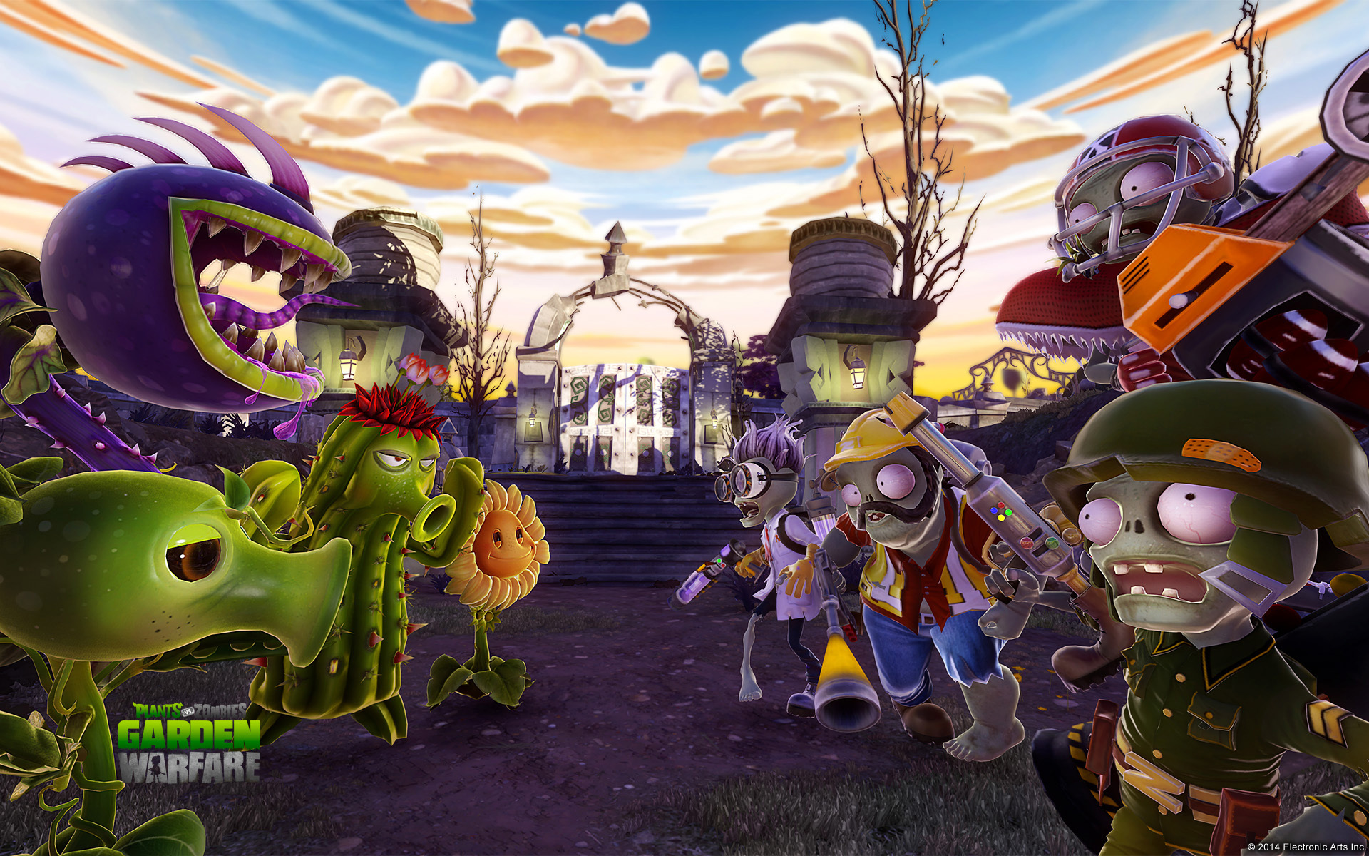 8 Hd Plants Vs Zombies Garden Warfare Wallpapers