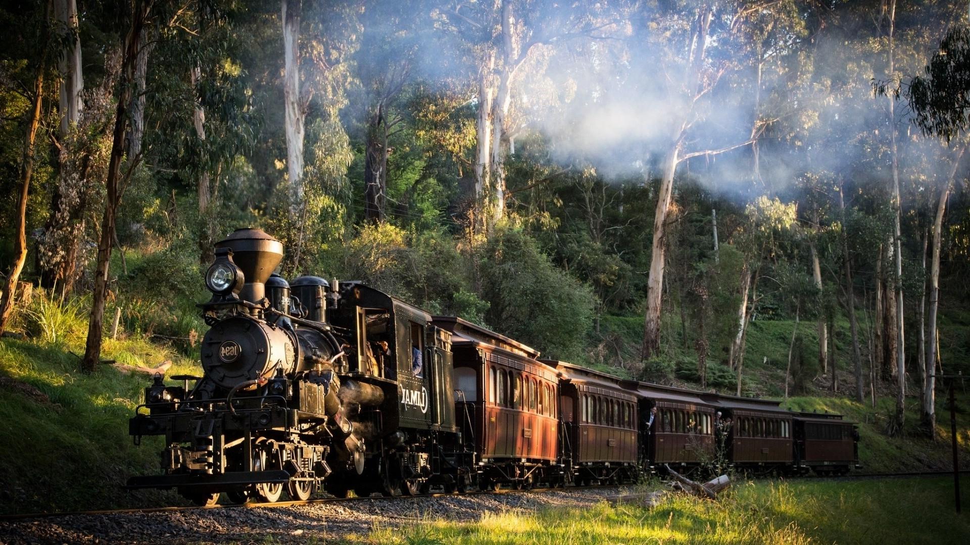19 Fantastic Hd Locomotive Wallpapers