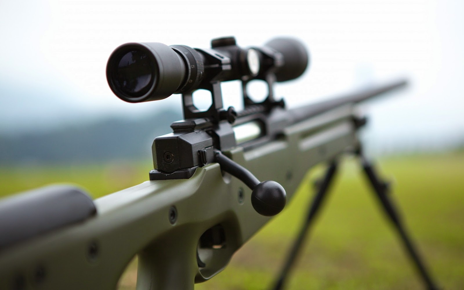 13 HD Sniper Rifle Guns Wallpapers