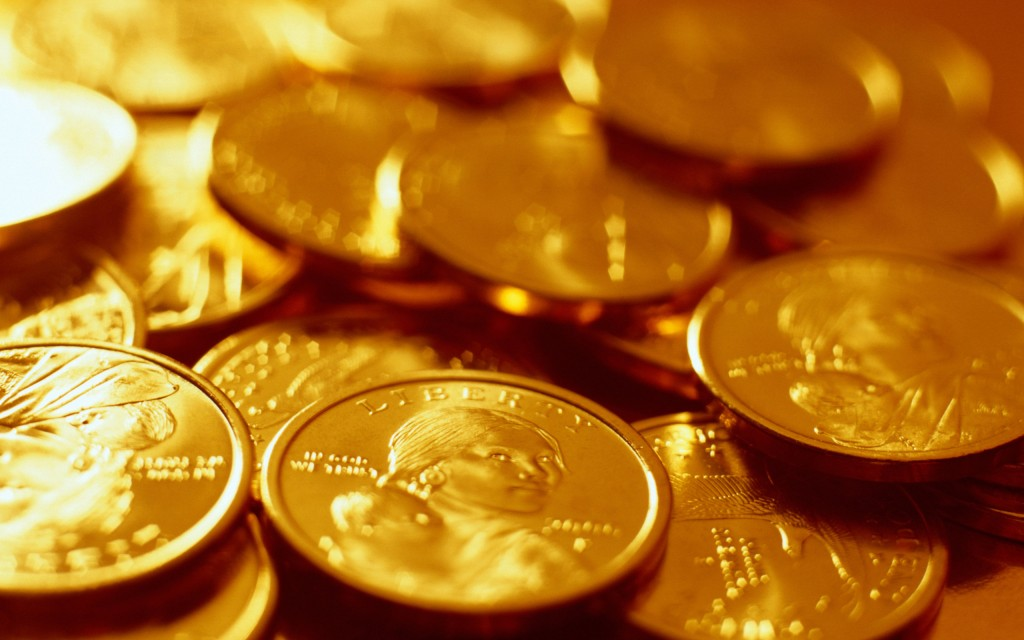 gold coins wallpapers