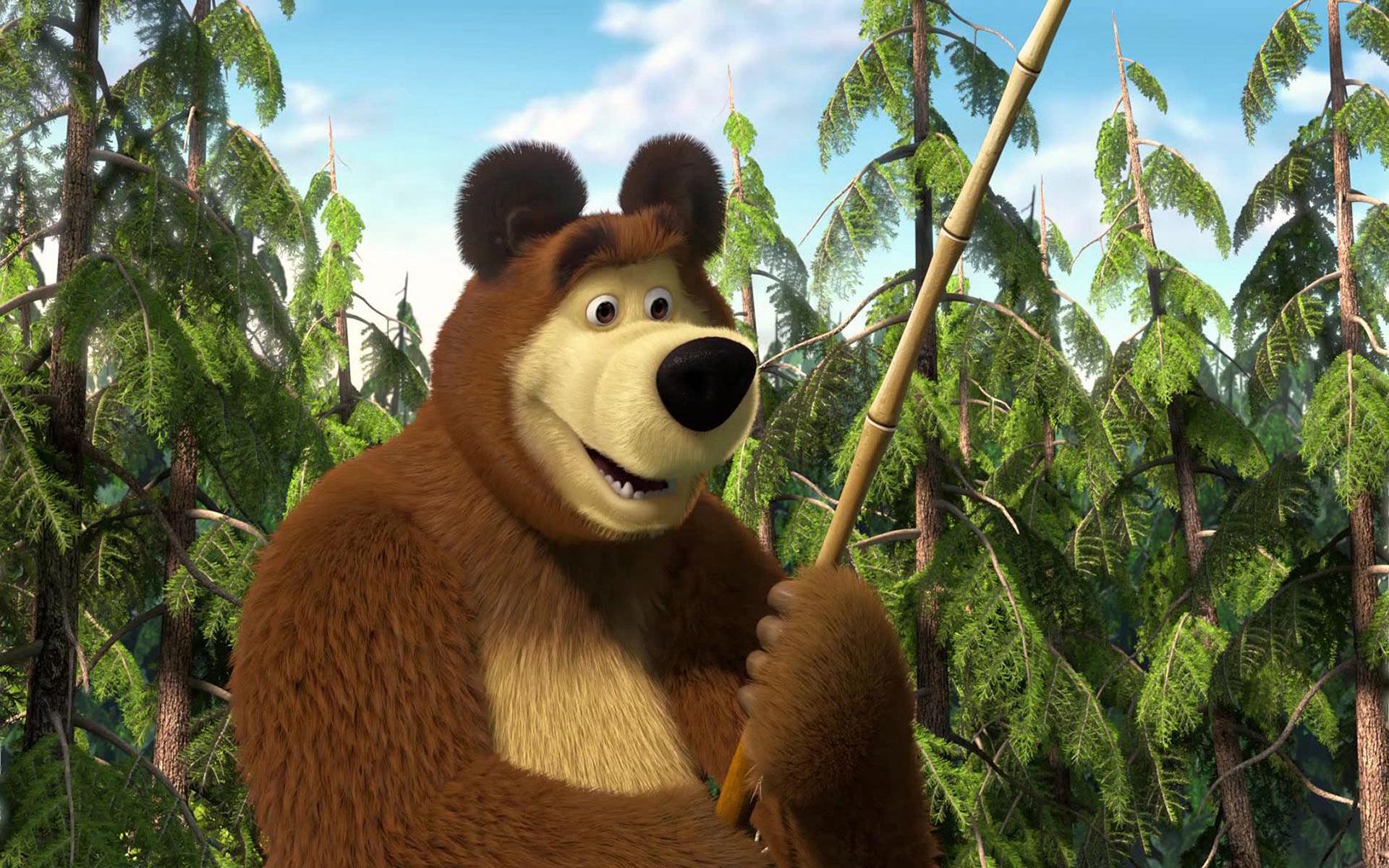 19 Hd Masha And The Bear Wallpapers