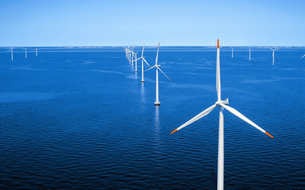 Offshore-Windpark Nysted / Offshore wind farm Nysted
