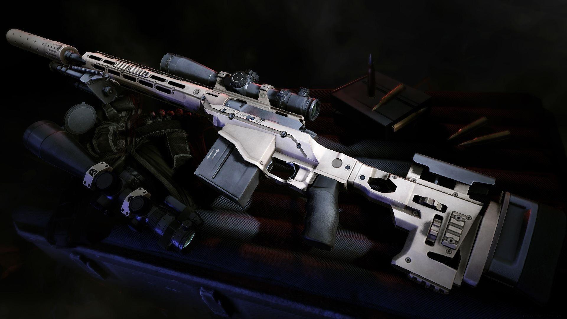 Guns Wallpaper Hd: 13 HD Sniper Rifle Guns Wallpapers