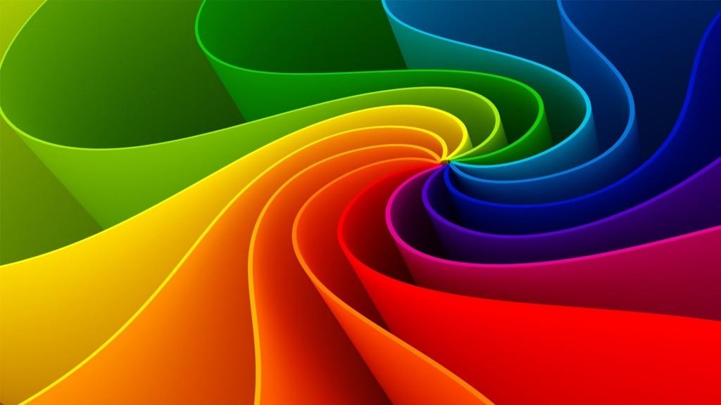 abstract rainbow desktop wallpapers
