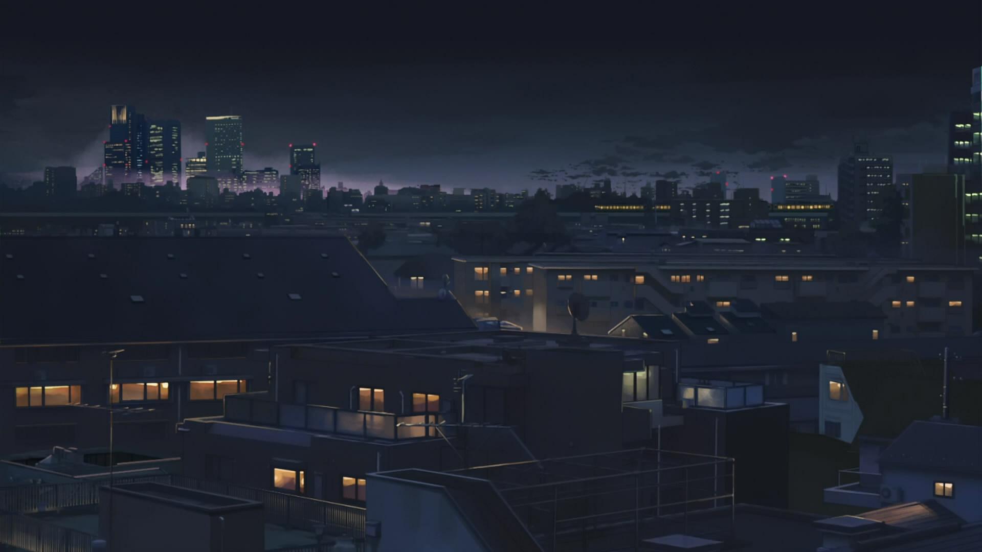 13 wonderful hd anime city wallpapers - Anime backdrop wallpaper ...