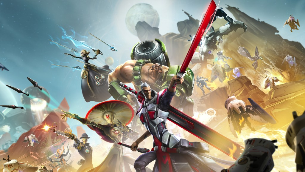 battleborn game widescreen wallpapers