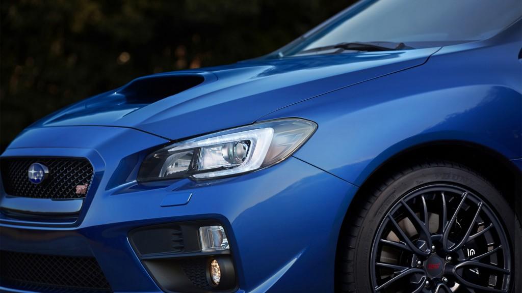 Subaru car headlights