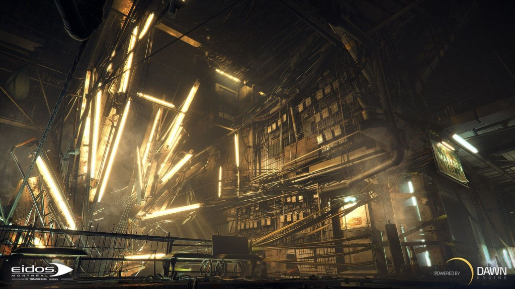 deus ex mankind divided wide wallpapers