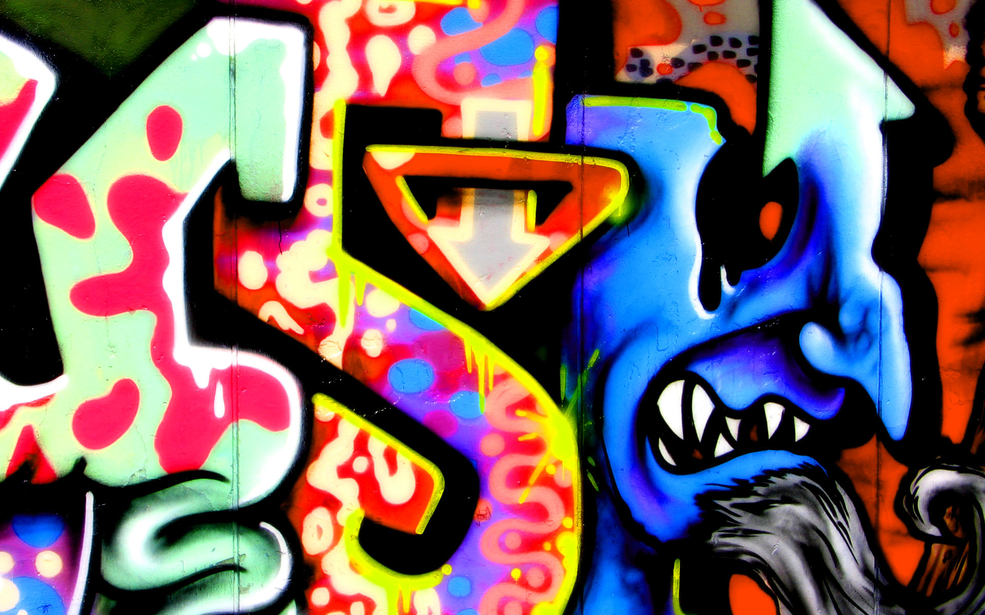 25 Awesome HD Graffiti Wallpapers