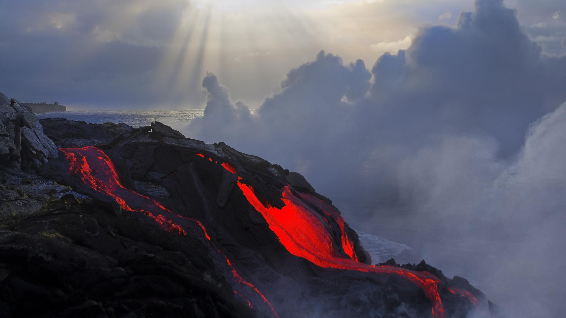 Volcano Wallpapers Hd: 9 HD Volcano Lava Wallpapers