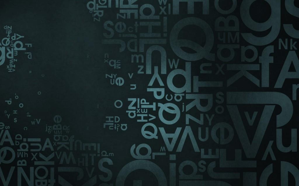letters desktop wallpapers