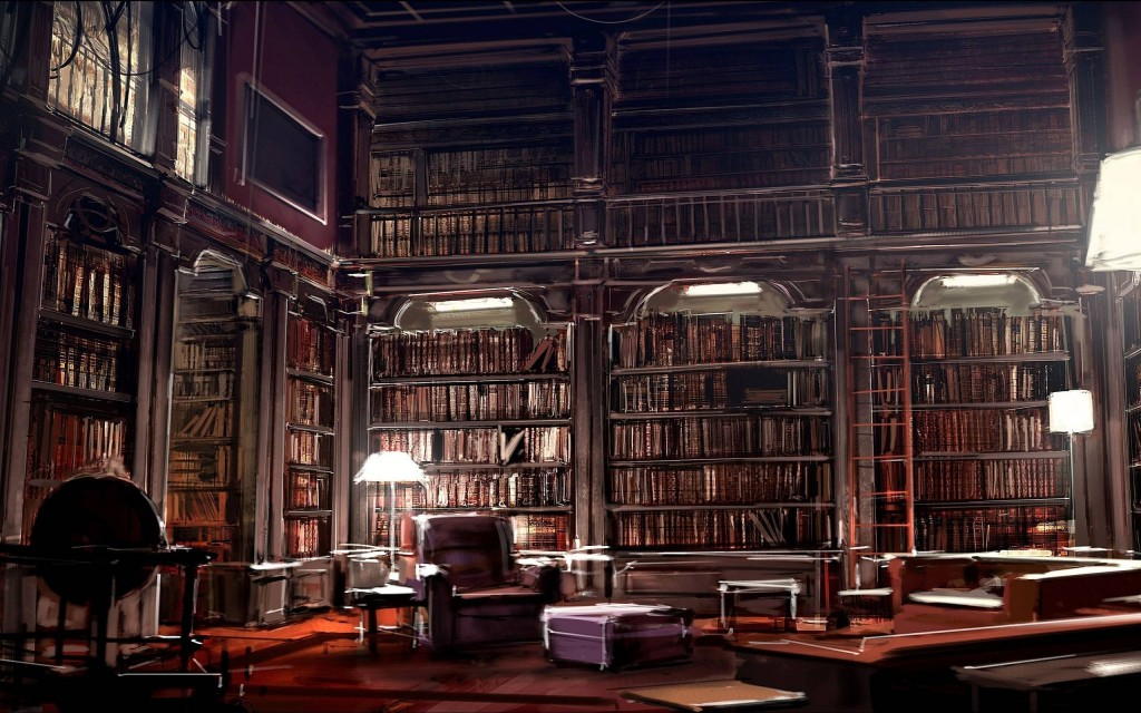 library widescreen wallpapers