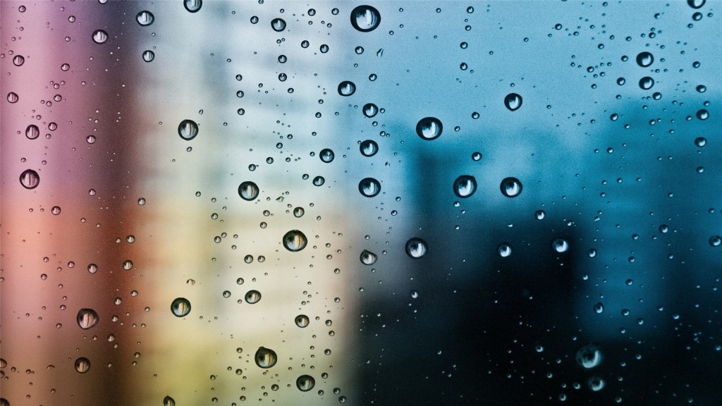 raindrops window wallpapers