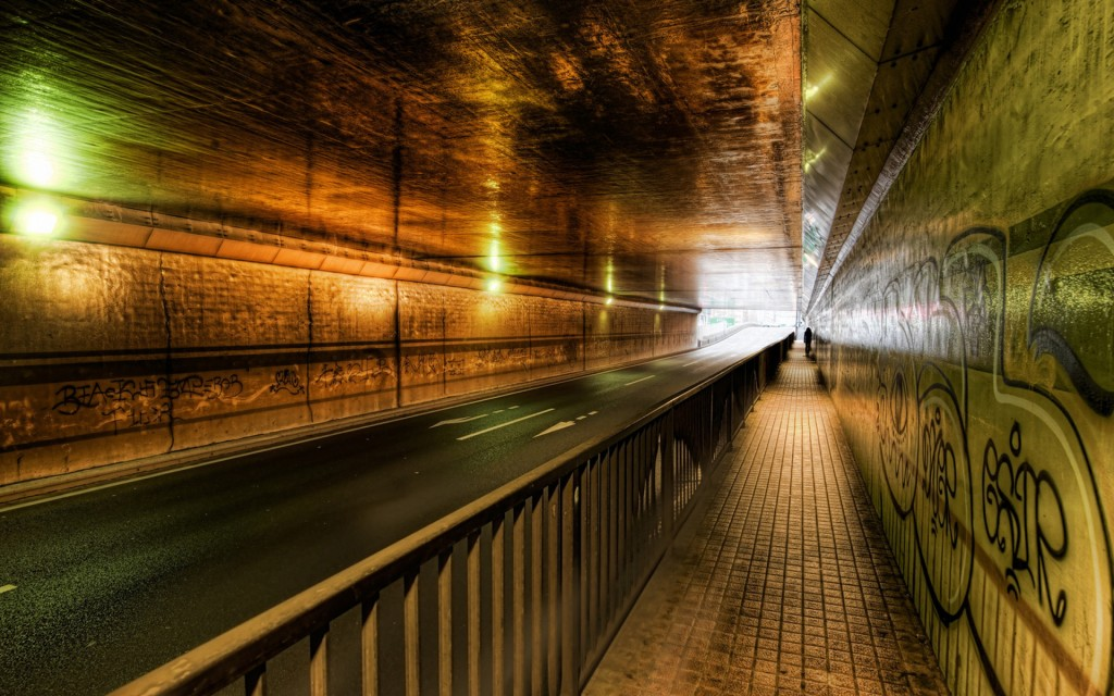 road tunnel wallpapers