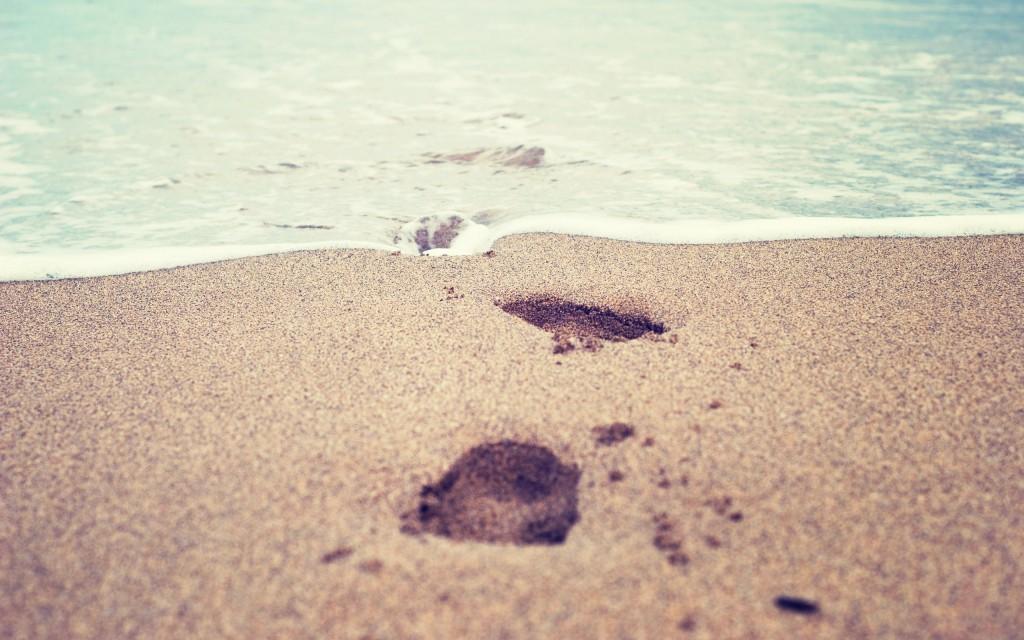 footprints wallpapers