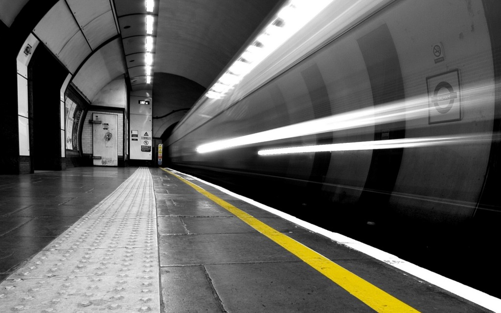 subway tunnel wallpapers