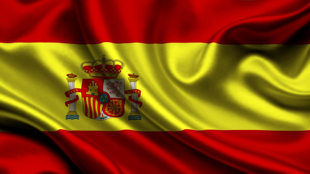 wavy spain flag wallpapers