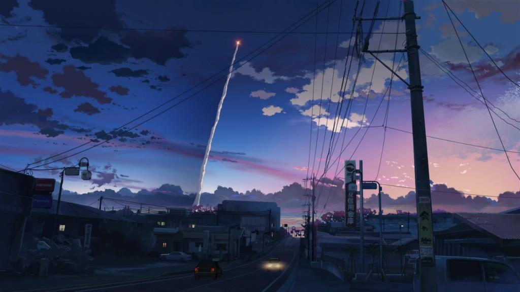 wonderful anime city wallpapers