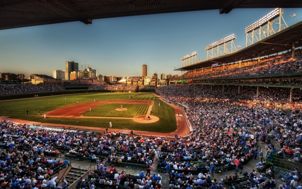 chicago cubs stadium wallpapers