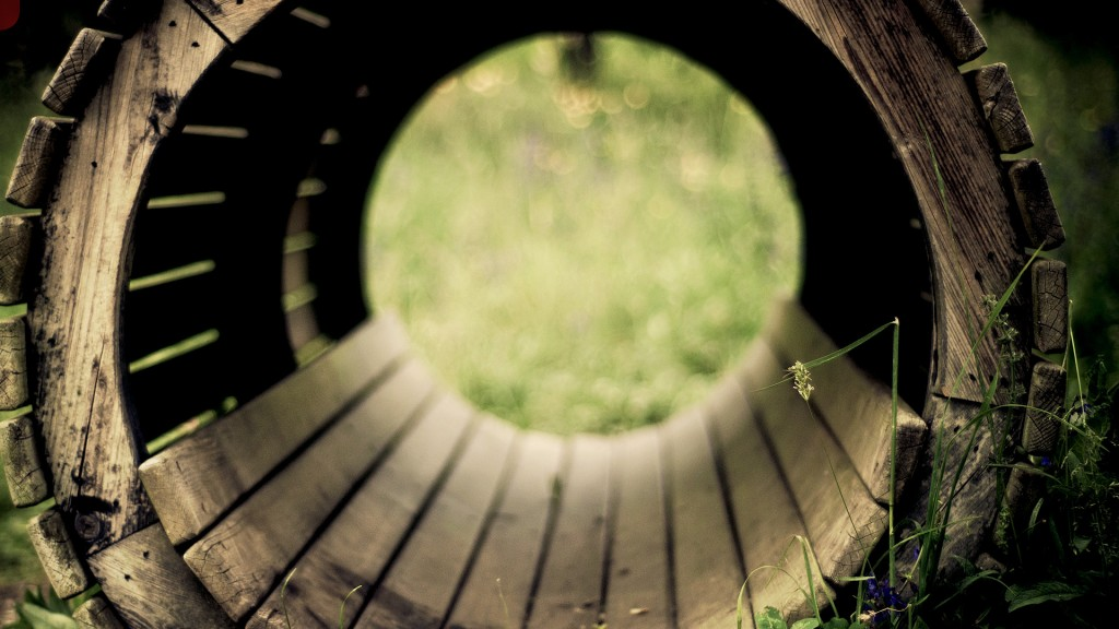 wood tunnel pictures wallpapers