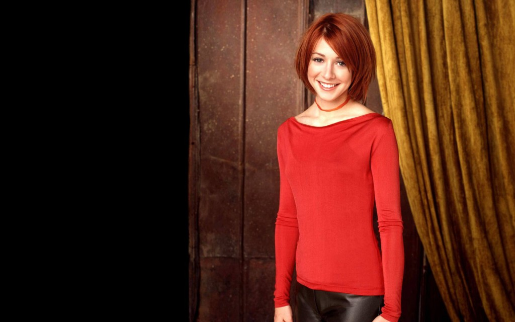 alyson hannigan smile wallpapers