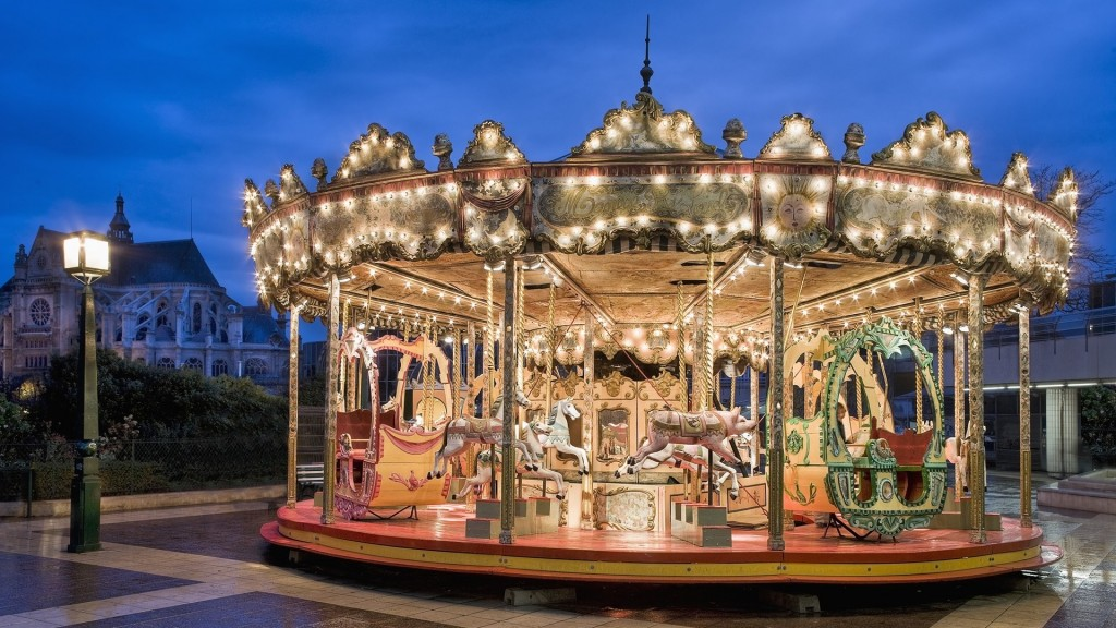 carousel photography wallpapers