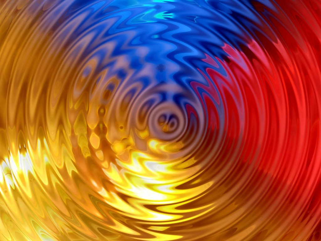 colorful ripples wallpapers