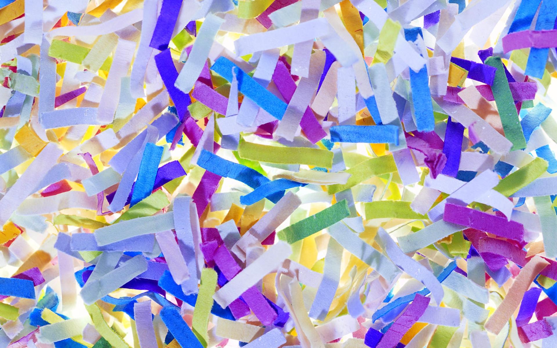 3 Lovely HD Confetti W...
