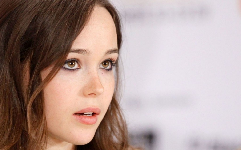 ellen page face wallpapers