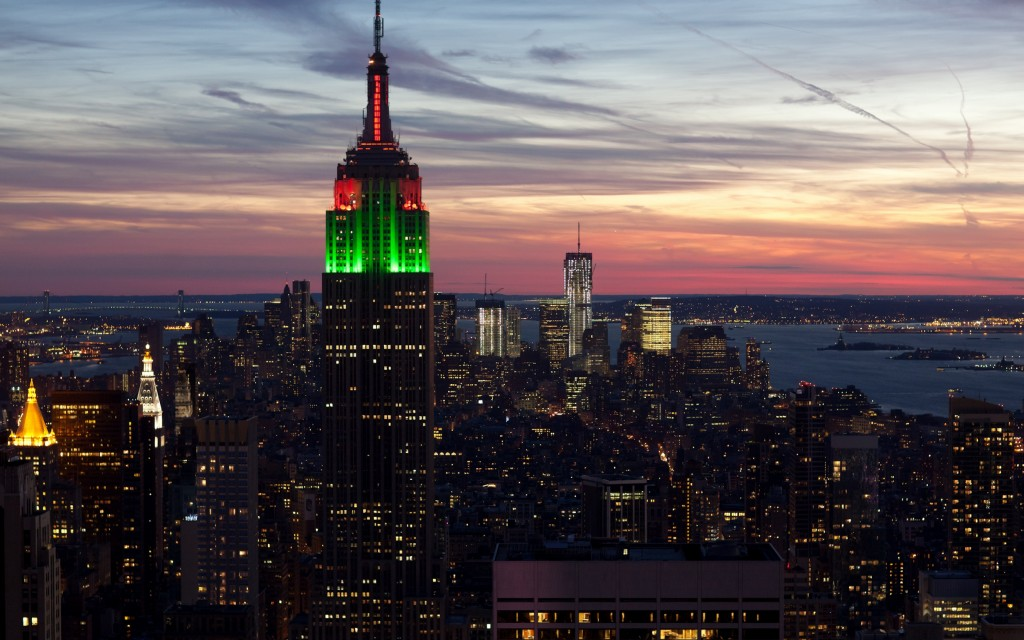 empire state building widescreen wallpapers